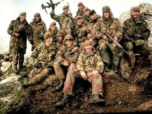 Schotten tijdens de Falklandoorlog