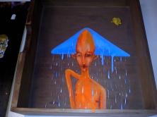 Kunstwerkje in een kist