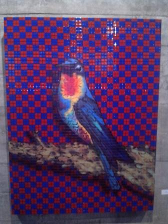 Een van de werken op de Biennale