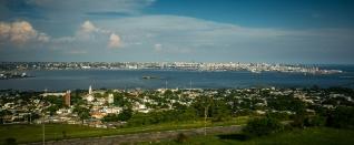 Uitzicht op Montevideo
