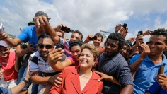 Dilma op campagne